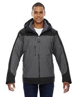 314579358-132 - NORTH END SPORT RED Men's Alta 3-in-1 Seam-Sealed Jacket with Insulated Liner - thumbnail