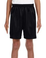 384354414-132 - A-4 Youth Six Inch Inseam Mesh Short - thumbnail