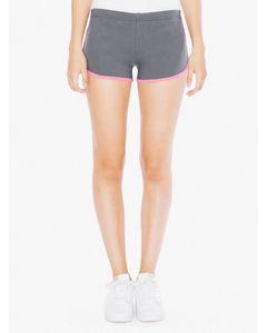 935810357-132 - American Apparel Ladies' Interlock Running Shorts - thumbnail