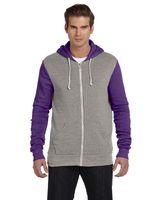 973772120-132 - Alternative Men's Rocky Eco-Fleece Colorblocked Full-Zip Hoodie - thumbnail