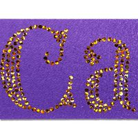 "166328739-185 - Badge Satin Ribbon 2"" (Sparkle) - thumbnail"