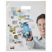 """515756560-185 - Digital Full-Color Die Cut Bag (12""""x15"""") - thumbnail"""