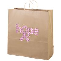 906487314-185 - Eco Duke Kraft-Brown Shopper Bag (Brilliance-Special Finish) - thumbnail