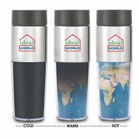 133909754-202 - 14 Oz. Double Wall Heat Changing Tumbler - thumbnail