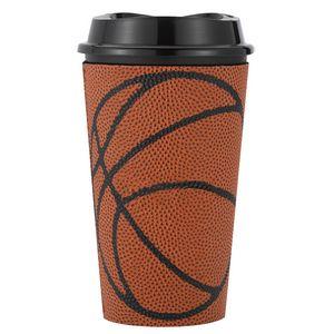 145369588-202 - 16 Oz. Single Wall Tumbler W/Basketball Sleeve - thumbnail