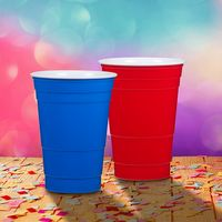 344241777-202 - Party Hard Cup 20 Oz. Double Wall Acrylic Cup - thumbnail