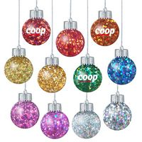 345943187-202 - Confetti Filled Ornaments with Electroplated lid and Silicone Stopper in Cap - thumbnail