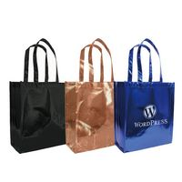 "365538816-202 - Metallic Tote Bag 12""x 13.7""x 5.5"" - thumbnail"