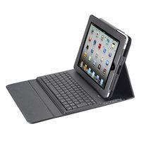 523866125-202 - Bluetooth Keyboard & Case Synthetic Leather - thumbnail