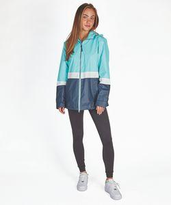 546490169-141 - Women's Color Blocked New Englander® Rain Jacket - thumbnail