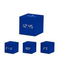155606153-114 - MoMA Color Cube Clock - Blue - thumbnail