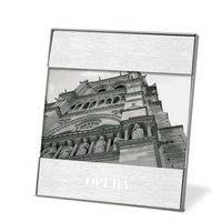 "392345576-114 - Duet Brushed Aluminum Photo Frame (4""x6"" Photo) - thumbnail"