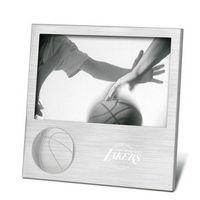 "732344869-114 - Sport Pix 4""x6"" Photo Frame w/ Embossed Basketball - thumbnail"