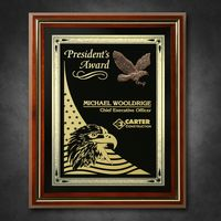 "132865308-133 - Americana Shadow Box with Glass 12-1/2"" x 15-1/2"" - thumbnail"