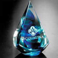 "182058502-133 - Blue Quatro Pyramid 4"" - thumbnail"