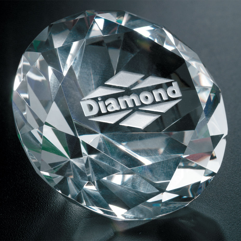 "361124193-133 - Diamond Paperweight 3-1/4"" Dia. - thumbnail"