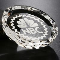 """391124207-133 - Faceted Gem Paperweight 3-1/4"""" Dia. - thumbnail"""