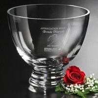 """513388589-133 - Clear Pedestal Bowl 8-1/2"""" Dia. - thumbnail"""