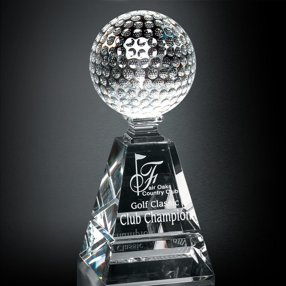 "992246273-133 - Golf Pyramid Award 6"" - thumbnail"