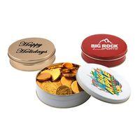 104523241-105 - Gift Tin w/Chocolate Coins - thumbnail