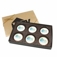 105555128-105 - Cookie Gift Box with 6 Digital Round Cookies - thumbnail