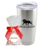 105774418-105 - 20 Oz. Stainless Steel Tumbler W/Jelly Belly® - thumbnail