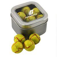 114520241-105 - Window Tin w/Chocolate Tennis Balls - thumbnail