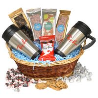 124517846-105 - Premium Mug Gift Basket-Trail Mix - thumbnail