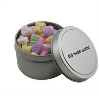 124521003-105 - Round Tin w/Conversation Hearts - thumbnail