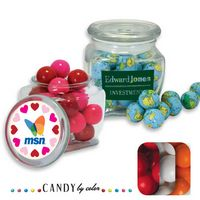 125554475-105 - Reusable Glass Spice Jar Filled w/ Gumball - thumbnail