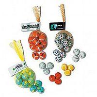 153892171-105 - Foil Wrapped Chocolate Baseballs in Mesh Net - thumbnail