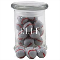 174523132-105 - Jar w/Chocolate Baseballs - thumbnail
