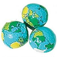 315554200-105 - Foil Wrapped Chocolate Mini Earth Balls - thumbnail