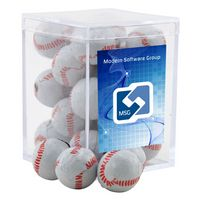 324521407-105 - Acrylic Box w/Chocolate Baseballs - thumbnail