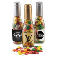 344517488-105 - Champagne Bottle w/Mini Chicklets - thumbnail