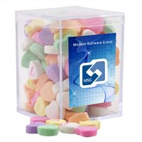 344521442-105 - Acrylic Box w/Conversation Hearts - thumbnail