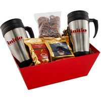364517626-105 - Tray w/Mugs and Mini Pretzels - thumbnail