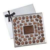 385554498-105 - 112 Piece Milk & Dark Chocolates w/ 4 Oz. Chocolate Centerpiece - thumbnail