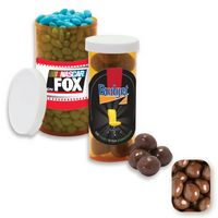 515554307-105 - Small Pill Bottle Filled w/Milk Chocolate Peanuts - thumbnail