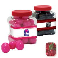 515554406-105 - Junior Grip Tub Resealable Container Filled w/ Gummy Twin Cherries - thumbnail