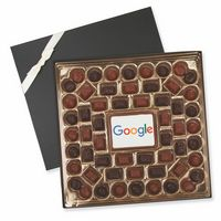 535555134-105 - Luxe Large Custom Chocolate Delight Box - thumbnail