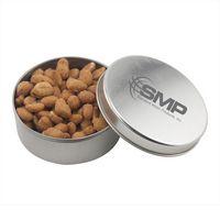 564520896-105 - Round Tin w/Honey Roasted Peanuts - thumbnail