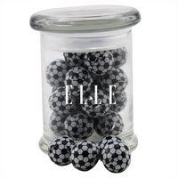 574523133-105 - Jar w/Chocolate Soccer Balls - thumbnail