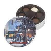 575555510-105 - Holiday Gift Tin w/Gourmet Sandwich Cookies - thumbnail
