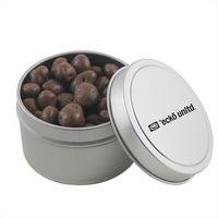 584520930-105 - Round Tin w/Chocolate Raisins - thumbnail