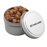 584521029-105 - Round Tin w/Honey Roasted Peanuts - thumbnail
