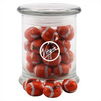 594523173-105 - Jar w/Chocolate Footballs - thumbnail