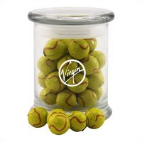 794523176-105 - Jar w/Chocolate Tennis Balls - thumbnail