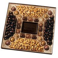 905554239-105 - Custom Confection Box w/ Molded Chocolate Centerpiece - 2 1/4 Lb. - thumbnail