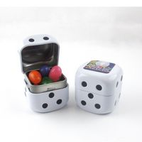 905554630-105 - Roll the Dice Tin w/ Assorted Jelly Beans - thumbnail